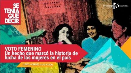 A 73 años del voto femenino en Argentina
