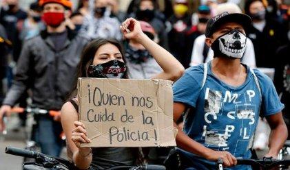 La rebelión contra la maldita Policía en Colombia