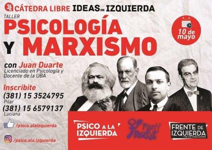 Psicología y Marxismo: un debate necesario en la UNT